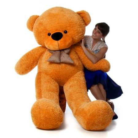 6ft-life-size-amazing-brown-teddy-bear-shaggy-cuddles-1-copy